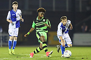 Forest Green Rovers Jesse Mansaray(15) during the The FA Youth Cup match between Bristol Rovers and Forest Green Rovers at the Memorial Stadium, Bristol, England on 2 November 2017. Photo by Shane Healey.