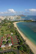Ala Moana Beach, Park, Waikiki, Oahu, Hawaii<br />