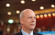 Conservative Party Conference, ICC, Birmingham, Great Britain <br /> Day 3<br /> 9th October 2012 <br /> <br /> Chris Grayling MP <br /> Justice Secretary <br /> <br /> Photograph by Elliott Franks<br /> <br /> United Kingdom<br /> Tel 07802 537 220 <br /> elliott@elliottfranks.com<br /> <br /> ©2012 Elliott Franks<br /> Agency space rates apply