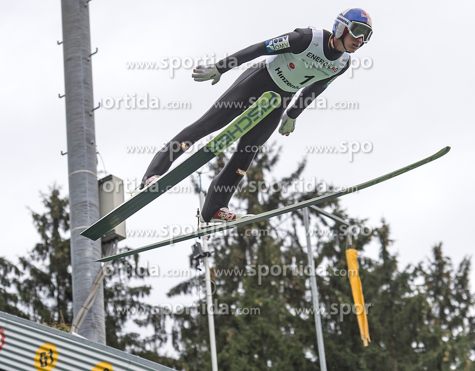 26.09.2015, Energie AG Skisprung Arena, Hinzenbach, AUT, FIS Ski Sprung, Sommer Grand Prix, Hinzenbach, Training, im Bild Gregor Schlierenzauer (AUT) during FIS Ski Jumping Summer Grand Prix Trainingsession, at the Energie AG Skisprung Arena, Hinzenbach, Austria on 2015/09/26. EXPA Pictures © 2015, PhotoCredit: EXPA/ Reinhard Eisenbauer