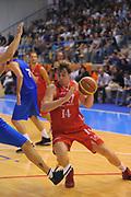DESCRIZIONE : Borgosesia Torneo di Varallo Lega A 2011-12 EA7 Emporio Armani Milano Novipiu Casale Monferrato<br /> GIOCATORE : Nicolo Melli<br /> CATEGORIA : Palleggio<br /> SQUADRA : EA7 Emporio Armani Milano<br /> EVENTO : Campionato Lega A 2011-2012<br /> GARA : EA7 Emporio Armani Milano Novipiu Casale Monferrato<br /> DATA : 10/09/2011<br /> SPORT : Pallacanestro<br /> AUTORE : Agenzia Ciamillo-Castoria/A.Dealberto<br /> Galleria : Lega Basket A 2011-2012<br /> Fotonotizia : Borgosesia Torneo di Varallo Lega A 2011-12 EA7 Emporio Armani Milano Novipiu Casale Monferrato<br /> Predefinita :