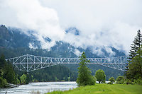 Cascade Locks, Oregon.
