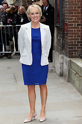 Sally Dynevor arriving for the wedding of Coronation Street actress Helen Worth   at St.James's Church in Piccadilly, London, Saturday 6th   April 2013.  Photo by: Stephen Lock / i-Images