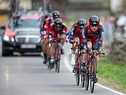 16.04.2013, Lavanterstrasse, Doelsach, AUT, Giro del Trentino, Teamzeitfahren, im Bild BMC Racing Team // during Team time Race, of the Giro del Trentino at the Lavanterstrasse, Doelsach, , Austria on 2013/04/16. EXPA Pictures © 2013, PhotoCredit: EXPA/ Johann Groder