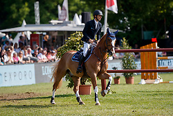 Devos Pieter, BEL, Apart<br /> Deutsches Spring- und Dressur Derby Hamburg 2018<br /> Longines Global Champions Tour<br /> Grand Prix of Hamburg<br /> © Hippo Foto - Dirk Caremans<br /> 12/05/2018
