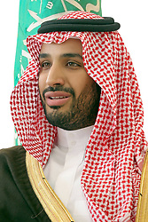File photo - Saudi Arabia's new Defence Minister Prince Mohammed bin Salman bin Abdelaziz Al Saud, born in 1980 (probably the world's youngest minister of Defence) seen in a photo released by Royal Palace, on January 23, 2015. Saudi Arabia's king has appointed his son Mohammed bin Salman as crown prince - replacing his nephew, Mohammed bin Nayef, as first in line to the throne. Prince Mohammed bin Nayef, 57, has been removed from his role as head of domestic security, state media say. A new Saudi anti-corruption body has detained 11 princes, four sitting ministers and dozens of former ministers, media reports say. The detentions came hours after the new committee, headed by Crown Prince Mohammed bin Salman, was formed by royal decree. Photo by Balkis Press/ABACAPRESS.COM  | 485014_002 Riyadh Arabie Saoudite Saudi Arabia