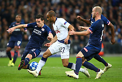 November 6, 2018 - London, England, United Kingdom - London, England - November 06, 2018.Tottenham Hotspur's Lucas (White).during Champion League Group B between Tottenham Hotspur and PSV Eindhoven at Wembley stadium , London, England on 06 Nov 2018. (Credit Image: © Action Foto Sport/NurPhoto via ZUMA Press)