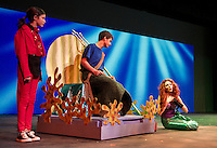 Dress rehearsal for the Gilford Middle School production of The Little Mermaid Jr.