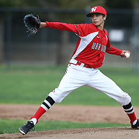 Westmont #8 Kirk Vasquez vs Leland in a BVAL Baseball Game at Westmont High School, Campbell CA on 3//23/2018. (Photograph by Bill Gerth/ for SVCN) (Leland 9 Westmont 8)