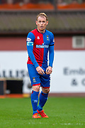 Carl Tremarco (#3) of Inverness Caledonian Thistle FC during the William Hill Scottish Cup quarter final match between Dundee United and Inverness CT at Tannadice Park, Dundee, Scotland on 3 March 2019.
