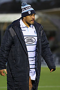 Cardiff Blues replacement Nick Williams (20)  during the Heineken Champions Cup match between Glasgow Warriors and Cardiff Blues at Scotstoun Stadium, Glasgow, Scotland on 13 January 2019.