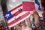 16 JUNE 2010 - PHOENIX, AZ: Bridget Haygood, 12, from Surprise, waits for her uncle, Sgt Clay Haygood at the 161st Air Refueling Wing hangar at Sky Harbor Airport in Phoenix Wednesday. Members of the 3666th Maintenance Company of the Arizona Army National Guard returned to Phoenix Wednesday after serving in Iraq (CQ).   PHOTO BY JACK KURTZ