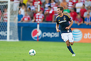 FRISCO, TX - AUGUST 11:  Todd Dunivant #2 of the Los Angeles Galaxy controls the ball against FC Dallas on August 11, 2013 at FC Dallas Stadium in Frisco, Texas.  (Photo by Cooper Neill/Getty Images) *** Local Caption *** Todd Dunivant