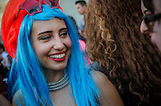 Thousands of Gay rights supporters joined members of the Turkish LGBT community to march in the annual Gay Pride parade in Istanbul