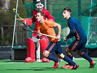 UTRECHT - Jeroen Hertzberger is weer geselecteerd voor de trainingsgroep van Oranje en trainde vanmorgen weer voor het eerst na lange tijd mee.   rechtsTristan Algera. COPYRIGHT KOEN SUYK