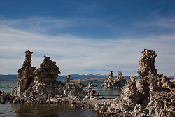 """Tufas at Mono Lake 1"" - These tufas were photographed at the South Tufa area in Mono Lake, California."