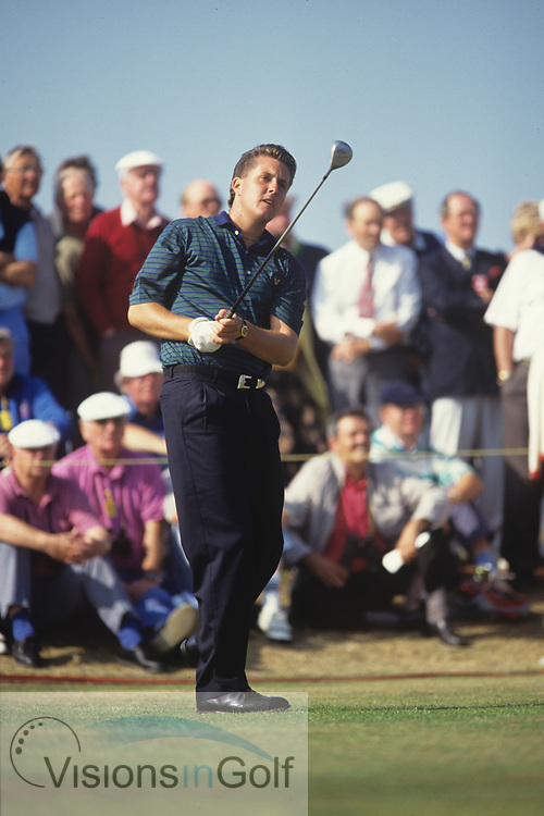 Phil Mickelson<br /> Walker Cup <br /> 1991<br /> Amateur<br /> Pictures Credit: Mark Newcombe/visionsingolf.com