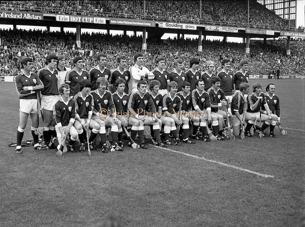 07/09/1980<br /> 09/07/1980<br /> 7 September 1980<br /> All-Ireland Hurling Final: Galway v Limerick at Croke Park, Dublin.<br /> The Galway team.