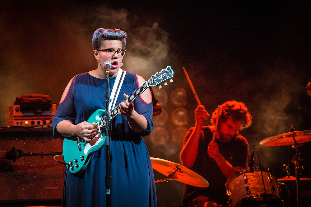 Brittany Howard with Alabama Shakes