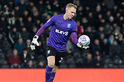 Cameron Dawson (25) during the EFL Sky Bet Championship match between Derby County and Sheffield Wednesday at the Pride Park, Derby, England on 11 December 2019.