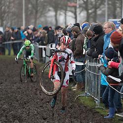 13-01-2018: Wielrennen: NK Veldrijden: Surhuisterveen<br />Annemarie Worst