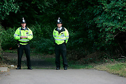 UK ENGLAND HIGH WYCOMBE 15AUG06 - Police cordon at King's Wood in Totteridge, High Wycombe, where Police are investigating an alleged bomb plot...jre/Photo by Jiri Rezac..© Jiri Rezac 2006..Contact: +44 (0) 7050 110 417.Mobile:  +44 (0) 7801 337 683.Office:  +44 (0) 20 8968 9635..Email:   jiri@jirirezac.com.Web:    www.jirirezac.com..© All images Jiri Rezac 2006 - All rights reserved.