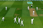The India slip fielders appeal for an LBW against Keaton Jennings of England during the 5th International Test Match 2018 match between England and India at the Oval, London, United Kingdom on 7 September 2018.