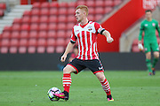 Harry Reed of Southampton's U23's during the Under 23 Premier League 2 match between Southampton and Manchester United at St Mary's Stadium, Southampton, England on 22 August 2016. Photo by Phil Duncan.