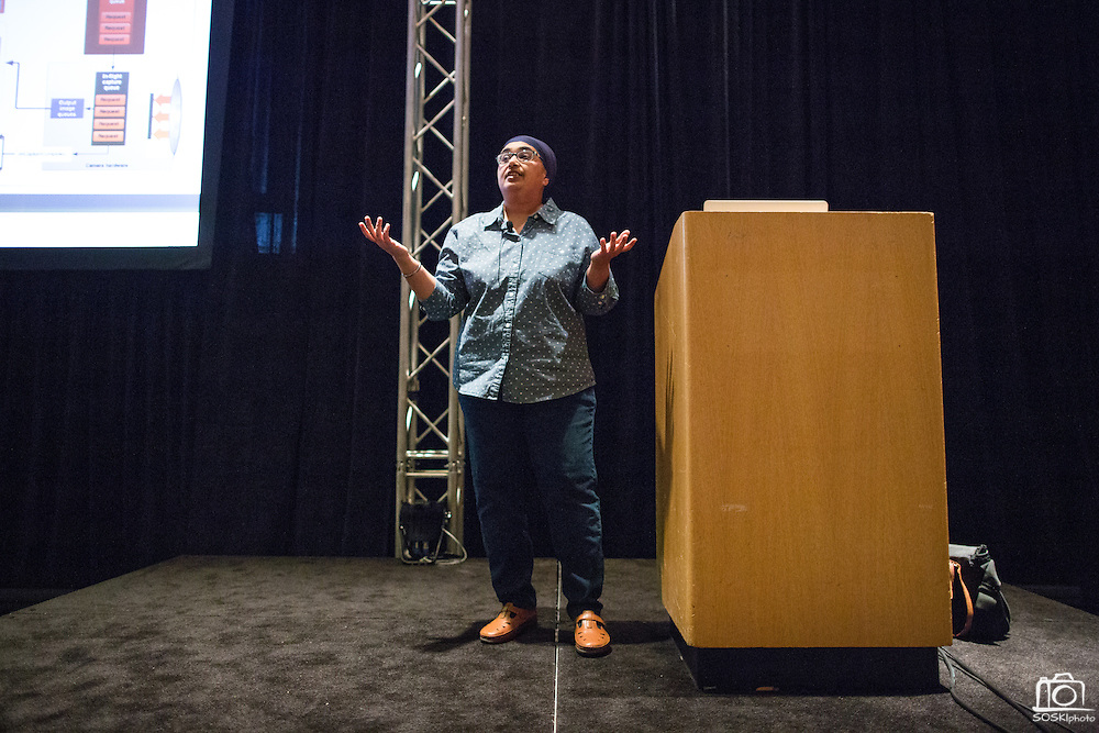 The Linux Foundation hosts its Android Builders Summit and Embedded Linux Conference at San Jose Marriott in San Jose, California, on March 23, 2015. (Stan Olszewski/SOSKIphoto)