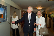 SIR EVELYN DE ROTHSCHILD  AND LADY  LYNN FORESTER DE ROTHSCHILD, The Opening of the Grosvenor House Antiques Fair. Grosvenor House. Park Lane. London. 11 June 2008.  *** Local Caption *** -DO NOT ARCHIVE-© Copyright Photograph by Dafydd Jones. 248 Clapham Rd. London SW9 0PZ. Tel 0207 820 0771. www.dafjones.com.