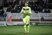 Jamie Jones (Stevenage) during the Sky Bet League 2 match between Hartlepool United and Stevenage at Victoria Park, Hartlepool, England on 9 February 2016. Photo by Mark P Doherty.