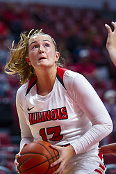 NORMAL, IL - October 30: Kayel Newland during a college women's basketball game between the ISU Redbirds and the Lions on October 30 2019 at Redbird Arena in Normal, IL. (Photo by Alan Look)