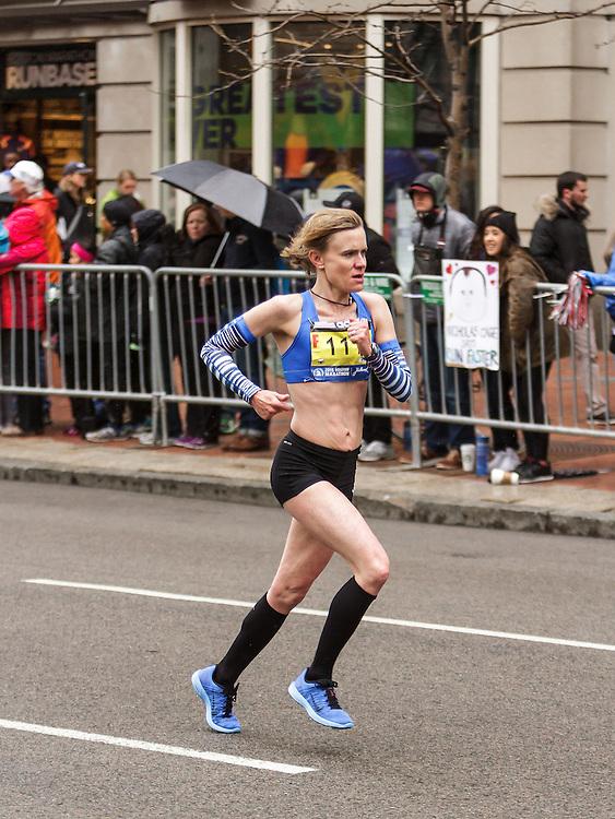 Boston Marathon: Kristin Barry, DIrigo, Maine