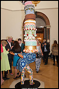 YINKA SHONIBARE'S WORK , Royal Academy of Arts Summer Exhibition 2014. Piccadilly. London. 4 June 2014.