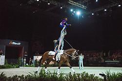 Team RSA), Elegante 42, Lars Hansen - Squad Freestyle Vaulting - Alltech FEI World Equestrian Games™ 2014 - Normandy, France.<br /> © Hippo Foto Team - Jon Stroud<br /> 03/09/2014