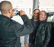 David Guetta était présent en Belgique pour la promotion de son concert prévu ce samedi 18 octobre sold out. Arrivé dans l'après-midi il a fait un parcours marathon de deux heures avant de repartir en avion vers les Pays-Bas pour son concert à Amsterdam.