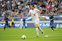 FOOTBALL - FRIENDLY GAME 2012 - FRANCE v SERBIA - REIMS (FRANCE) - 31/05/2012 - PHOTO JEAN MARIE HERVIO / REGAMEDIA / DPPI - NIKOLA MAKSIMOVIC (SER)
