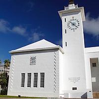 Bermuda, Hamilton. City Hall of Hamilton, Bermuda.