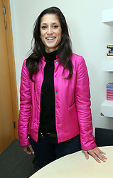 Author Fatima Bhutto in London, Tuesday, 26th November 2013. Picture by Stephen Lock / i-Images
