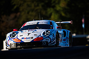 October 11-13, 2018: IMSA Weathertech Series, Petit Le Mans: 911 Porsche GT Team, Porsche 911 RSR, Patrick Pilet, Nick Tandy, Frederic Makowiecki (throwback livery)