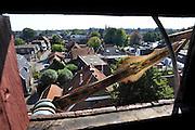 Nederland, Losser, 4-9-2012Het dorp,stadje, Losser, gemeente dinkelland, in Twente, twenthe. Het centrum van het dorp bij het raadhuisplein vanuit de Martinustoren.Foto: Flip Franssen/Hollandse Hoogte