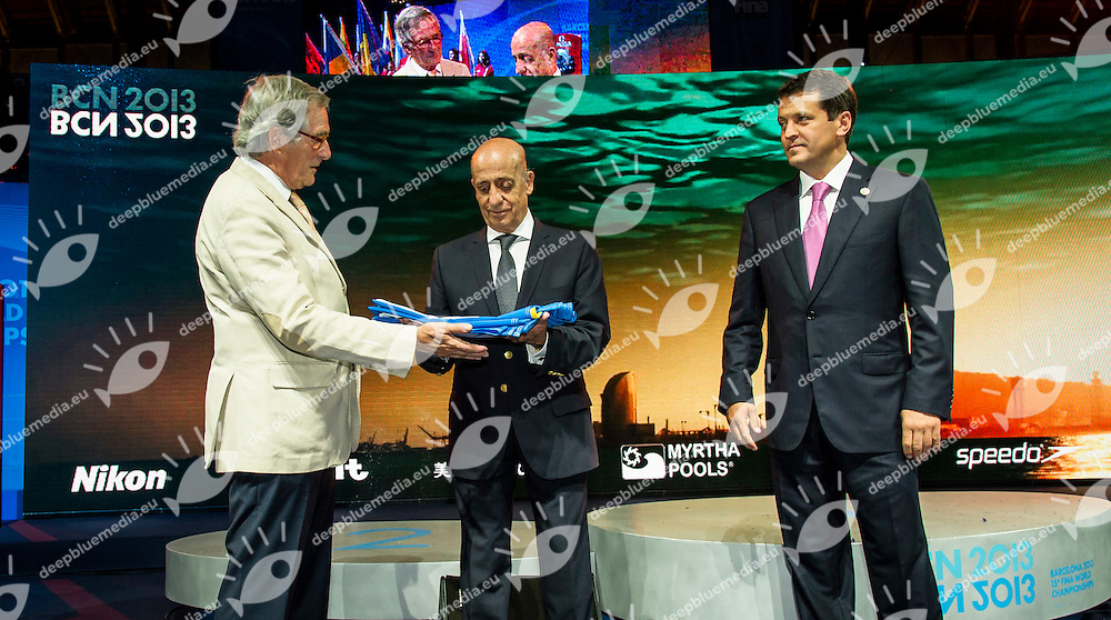 Julio Cesar MAGLIONE<br /> 15 FINA World Aquatics Championships<br /> Barcelona 20 July - 4 August 2013<br /> Photo G.Scala/Deepbluemedia.eu