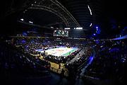 Panoramica Palazzetto, Arena, Tifosi, Coreografia<br /> Umana Reyer Venezia - Happy Casa Brindisi<br /> LBA Final Eight 2020 Zurich Connect - Finale<br /> Basket Serie A LBA 2019/2020<br /> Pesaro, Italia - 16 February 2020<br /> Foto Mattia Ozbot / CiamilloCastoria
