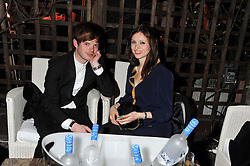 RICHARD JONES and SOPHIE ELLIS-BEXTOR at the InStyle Best of British Talent Event in association with Lancôme and Charles Worthington held at The Rooftop Restaurant, Shoreditch House, Ebor Street, E1 on 26th January 2012.