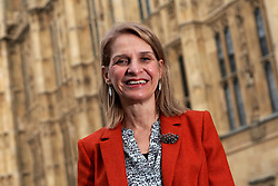 UK ENGLAND LONDON 16NOV17 - Wera Hobhouse MP for Bath poses for photos outside the Houses of Parliament, Westminster, London. Born in Hanover, Hobhouse moved to Britain in 1990 after having married her English husband. In the 2017 general election, she stood for the Liberal Democrat seat in Bath and gained a majority of 5694 votes.<br /> <br /> jre/Photo by Jiri Rezac<br /> <br /> © Jiri Rezac 2017