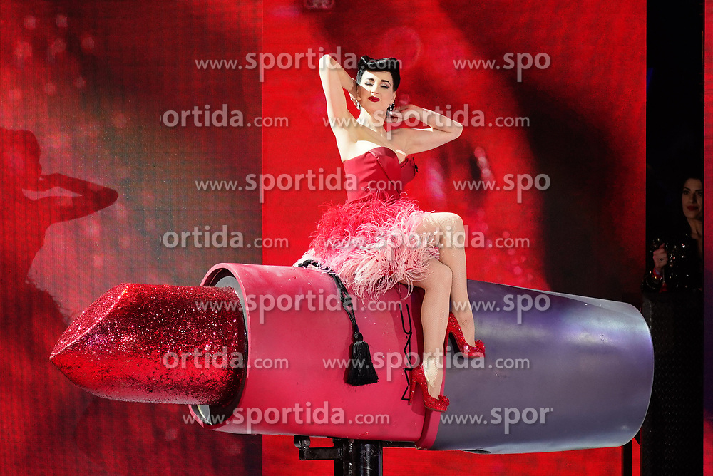 08.06.2019, Rathaus, Wien, AUT, Life Ball, im Bild Dita von Teese // during the Life Ball at the Rathaus in Wien, Austria on 2019/06/08. EXPA Pictures © 2019, PhotoCredit: EXPA/ Florian Schroetter