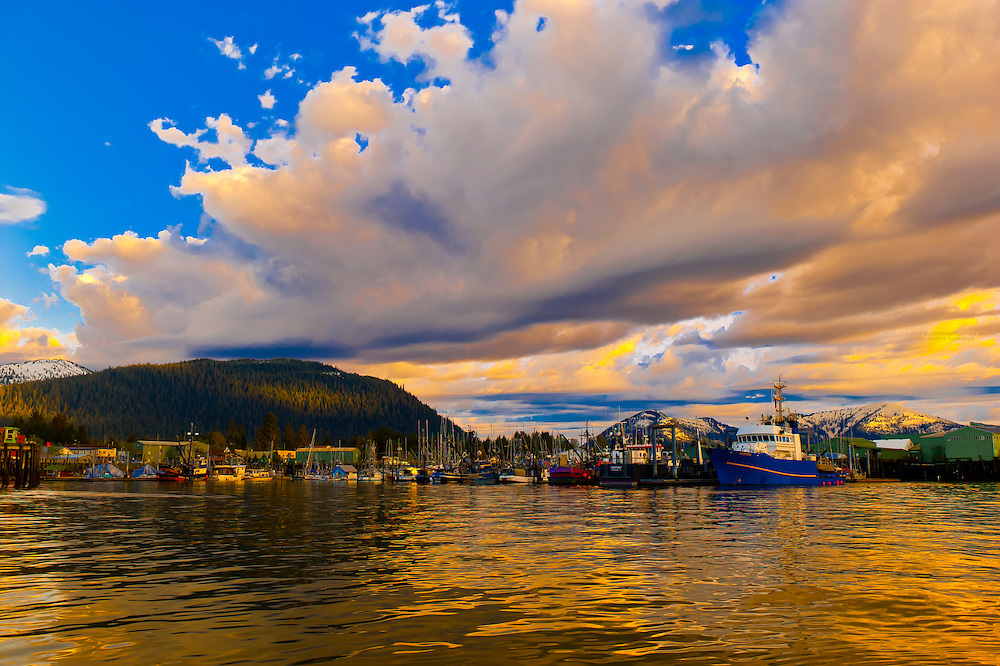 Harbor, Petersburg, Southeast Alaska USA