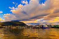 Harbor, Petersburg, Southeast Alaska USA