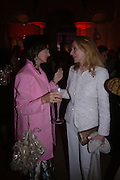 Maya flick and Mrs. Alfred Taubman, Cartier party to celebrate the Blooming of a precious jewel. the Orangery. Kensington Palace. London.  25 October 2005. October 2005. ONE TIME USE ONLY - DO NOT ARCHIVE © Copyright Photograph by Dafydd Jones 66 Stockwell Park Rd. London SW9 0DA Tel 020 7733 0108 www.dafjones.com
