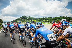 Aleksei Rybalkin (RUS) of Gazprom - Rusvelo during 1st Stage of 26th Tour of Slovenia 2019 cycling race between Ljubljana and Rogaska Slatina (171 km), on June 19, 2019 in  Slovenia. Photo by Vid Ponikvar / Sportida